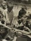 """"""" Царица Милица""""  вртић 1958 год.-1964год. игра деце у дворишу вртића,  Новогодишња представа,изложба ликовних радова у вртићу"""